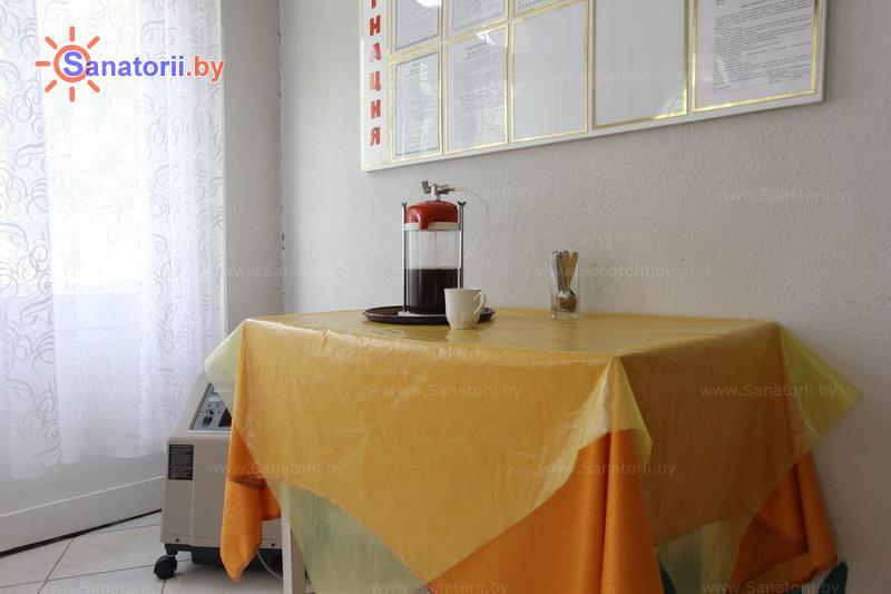 Санатории Белоруссии Беларуси - ДРОЦ Сидельники - Оксигенотерапия (кислородотерапия)