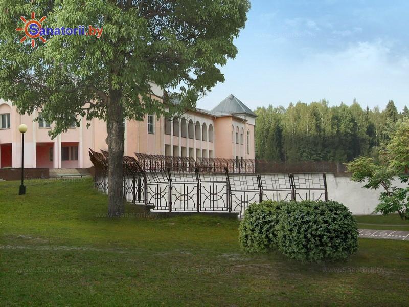 Санатории Белоруссии Беларуси - ДРОЦ Сидельники - Танцплощадка летняя