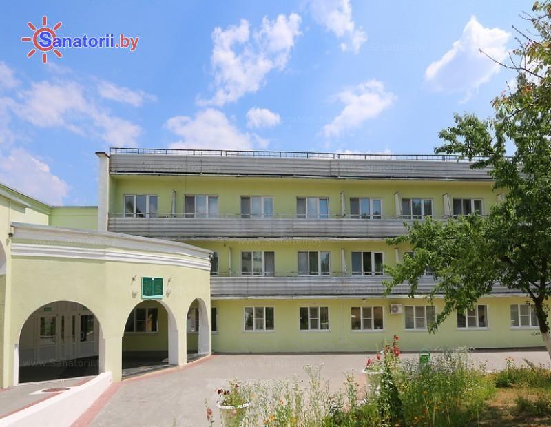 Санатории Белоруссии Беларуси - ДРОЦ Сидельники - лечебный корпус