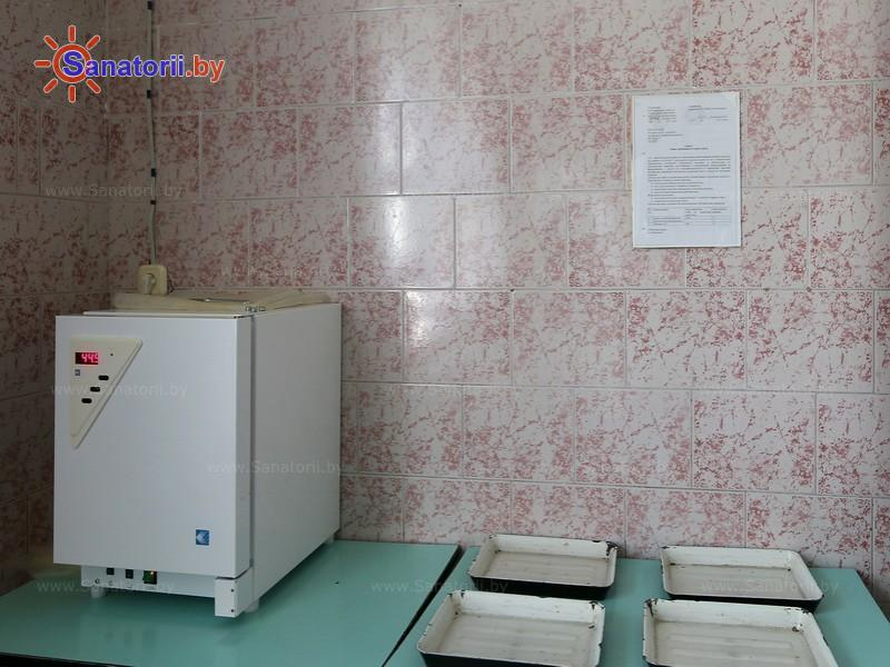 Санатории Белоруссии Беларуси - ДРОЦ Сидельники - Озокерито-парафинолечение