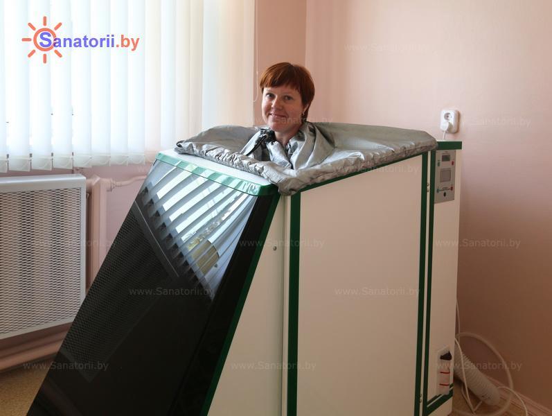 Санатории Белоруссии Беларуси - ДРОЦ Сидельники - Ванна сухая углекислая