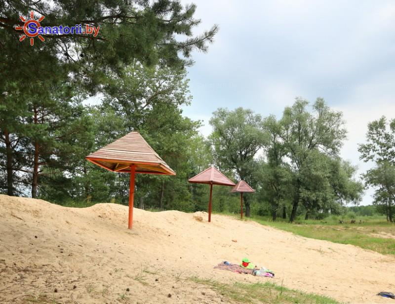 Санатории Белоруссии Беларуси - ДРОЦ Птичь - Пляж