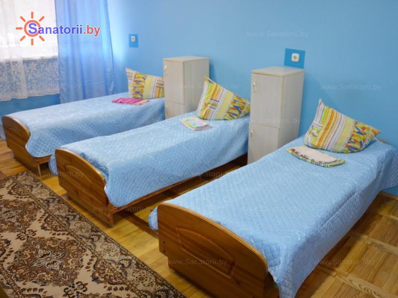 Санатории Белоруссии Беларуси - ДРОЦ Свитанак - трехместный в блоке (спальный корпус №1)