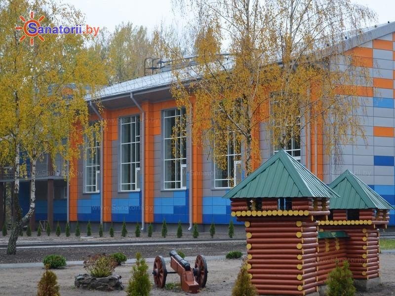 Санатории Белоруссии Беларуси - ДРОЦ Свитанак - спортивный зал