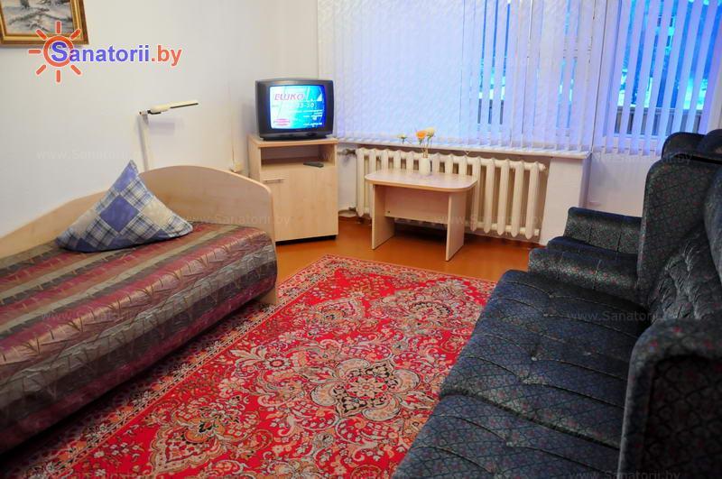 Санатории Белоруссии Беларуси - ДРОЦ Надежда - двухместный однокомнатный (гостевые дома №2,3)