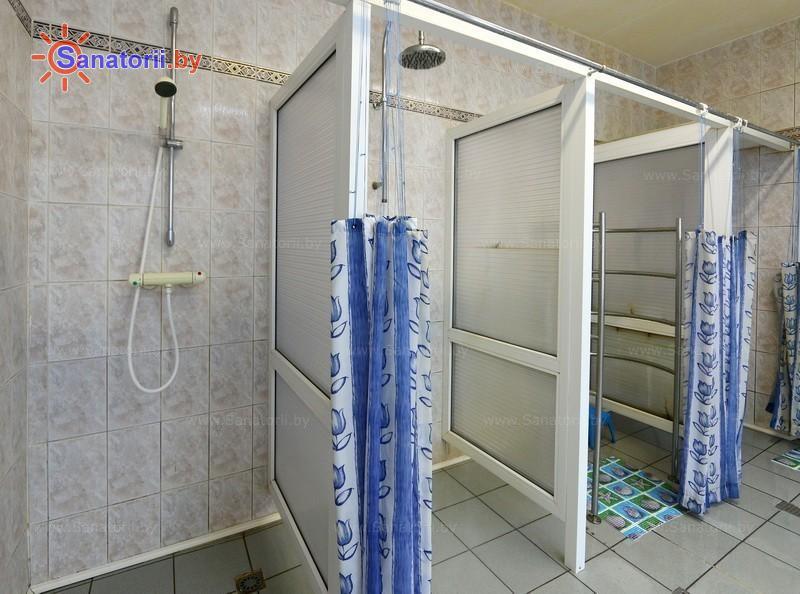Санатории Белоруссии Беларуси - ДРОЦ Надежда - Душ лечебный