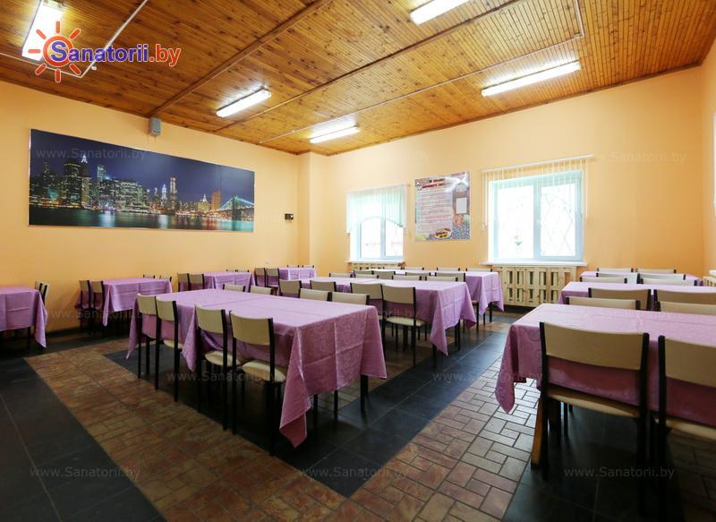 Санатории Белоруссии Беларуси - ДРОЦ Романтика Люкс - Столовая