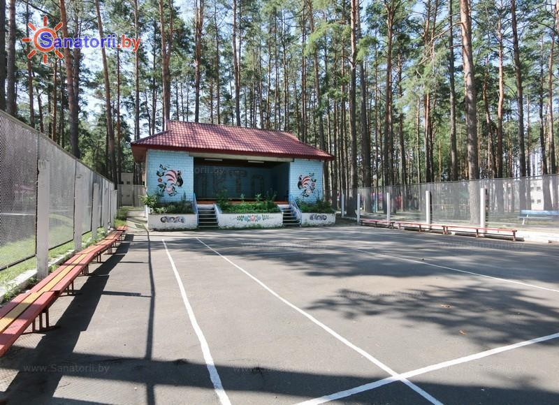 Санатории Белоруссии Беларуси - ДРОЦ Романтика Люкс - Танцплощадка летняя