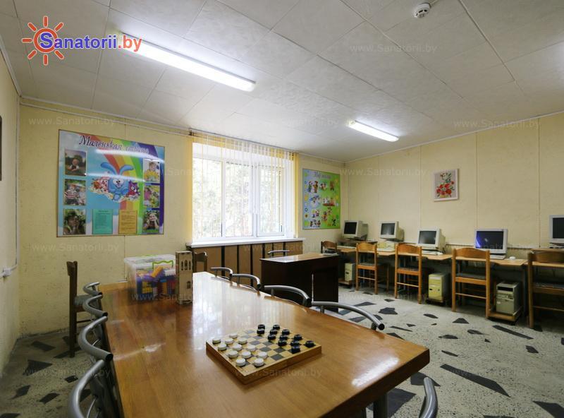 Санатории Белоруссии Беларуси - ДРОЦ Романтика Люкс - Детская комната
