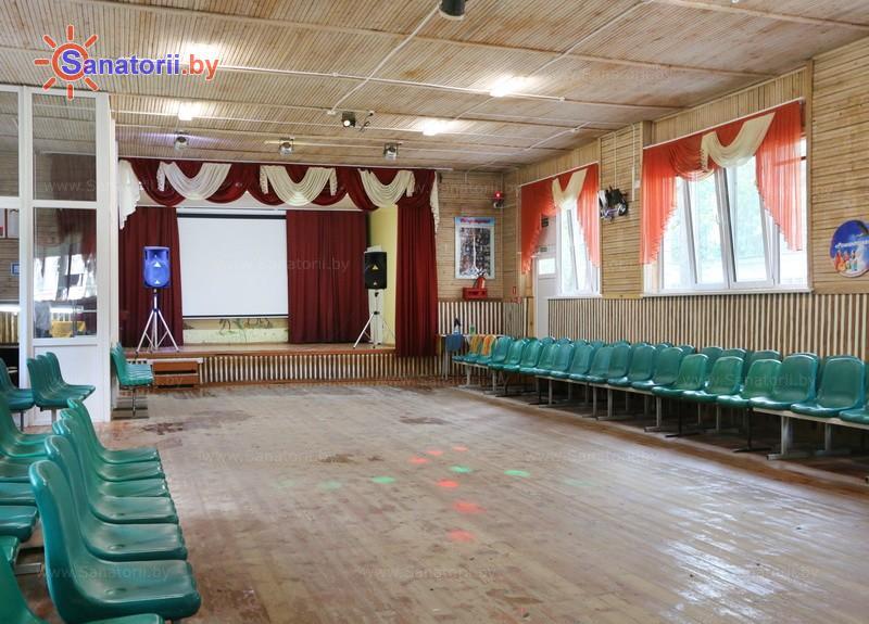 Санатории Белоруссии Беларуси - ДРОЦ Романтика Люкс - Танцевальный зал