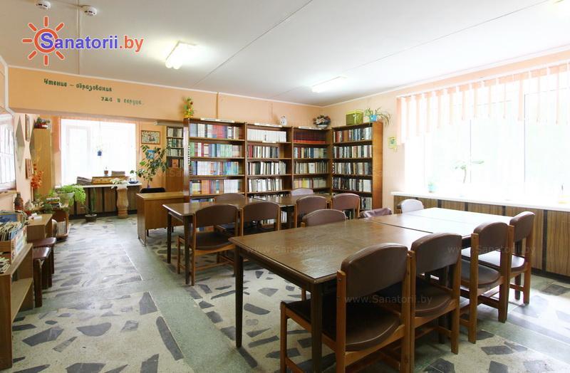 Санатории Белоруссии Беларуси - ДРОЦ Романтика Люкс - Библиотека