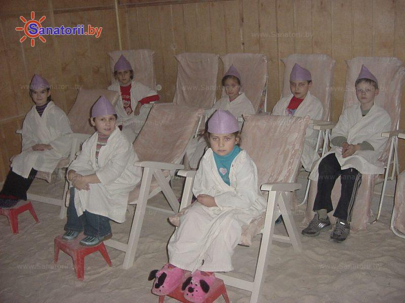 Санатории Белоруссии Беларуси - детский санаторий Радуга - Галотерапия