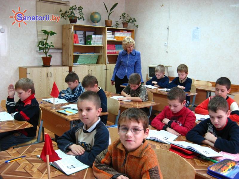 Санатории Белоруссии Беларуси - детский санаторий Радуга - Школа