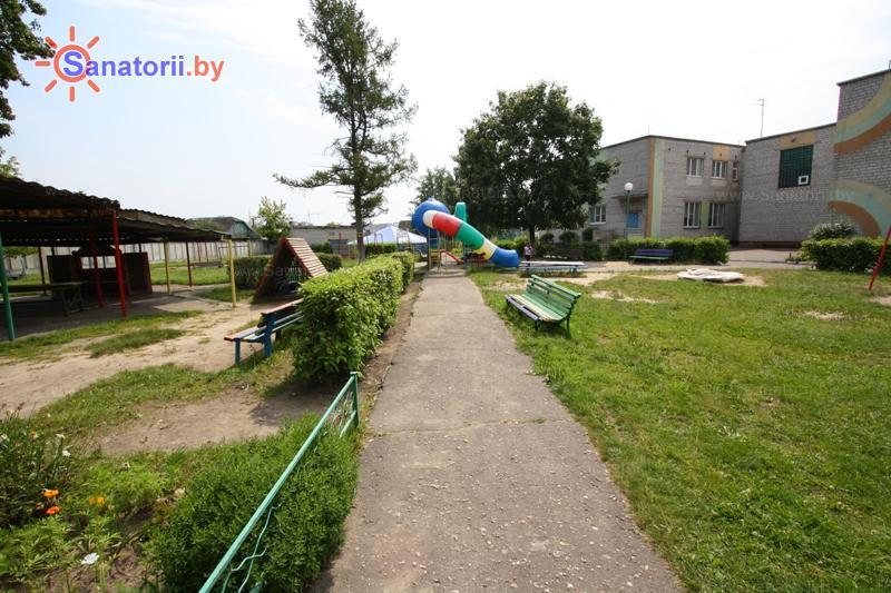 Санатории Белоруссии Беларуси - детский санаторий Радуга - Территория и природа