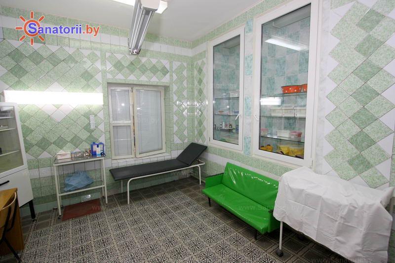 Санатории Белоруссии Беларуси - детский санаторий Радуга - Процедурный кабинет