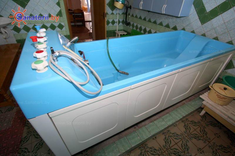 Санатории Белоруссии Беларуси - детский санаторий Радуга - Душ-массаж подводный