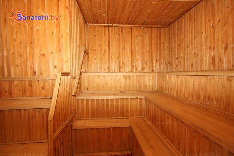 Санатории Белоруссии Беларуси - детский санаторий Радуга - Сауна финская