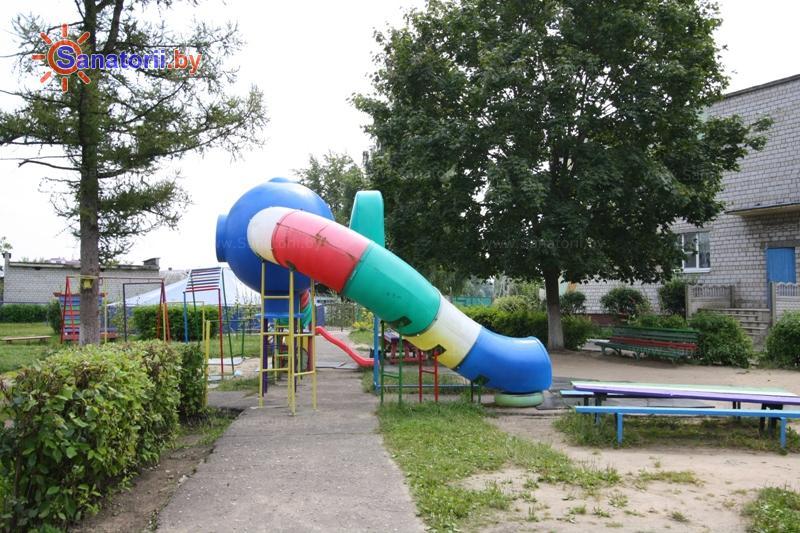 Санатории Белоруссии Беларуси - детский санаторий Радуга - Детская площадка