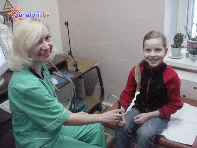 Санатории Белоруссии Беларуси - детский санаторий Радуга - Электролечение