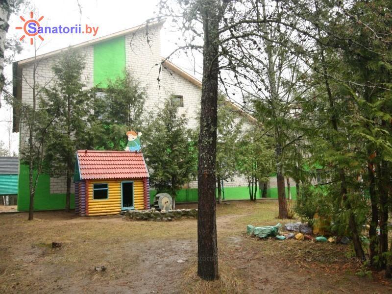 Санатории Белоруссии Беларуси - детский санаторий Боровичок - корпуса №1, 2, 3, 4, 5, 6