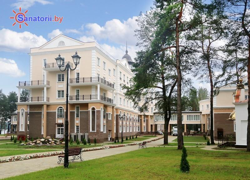 Санатории Белоруссии Беларуси - санаторий Плисса - спальный корпус