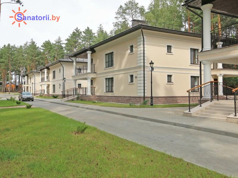 Санатории Белоруссии Беларуси - санаторий Плисса - коттеджи № 1-5