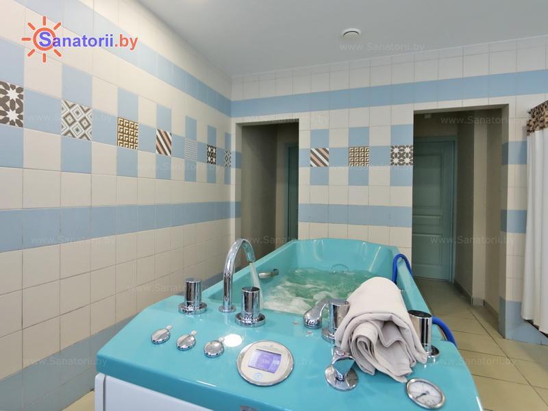 Санатории Белоруссии Беларуси - санаторий Плисса - Душ-массаж подводный