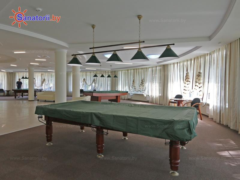 Санатории Белоруссии Беларуси - санаторий Плисса - Бильярд