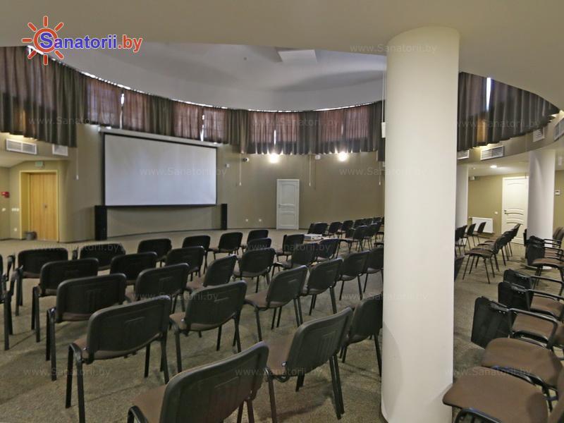 Санатории Белоруссии Беларуси - санаторий Плисса - Конференц-зал