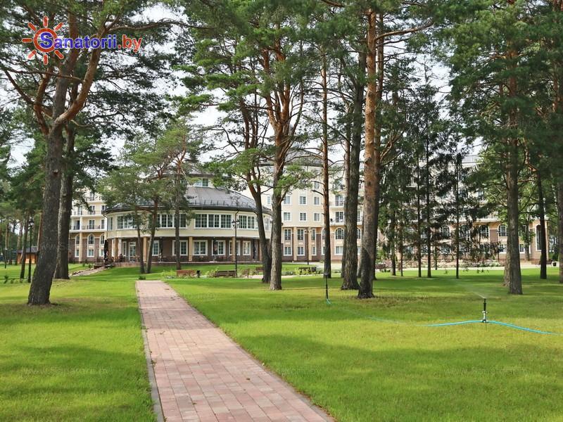 Санатории Белоруссии Беларуси - санаторий Плисса - Территория и природа
