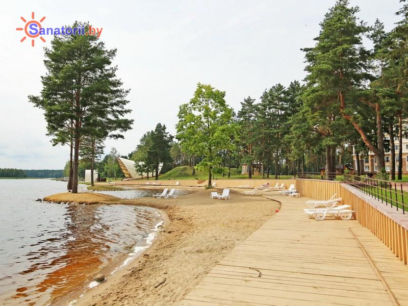 Санатории Белоруссии Беларуси - санаторий Плисса - Пляж