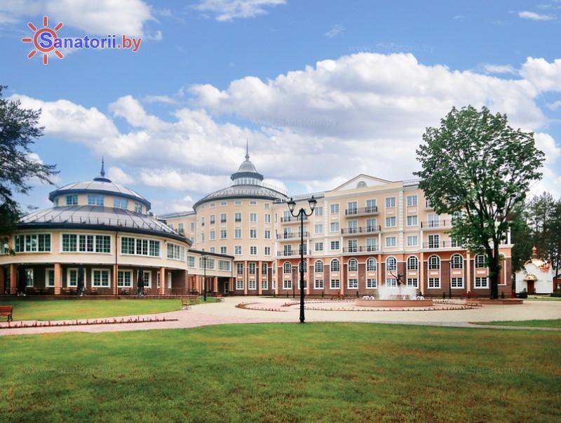 Санатории Белоруссии Беларуси - санаторий Плисса - культурно-развлекательный корпус