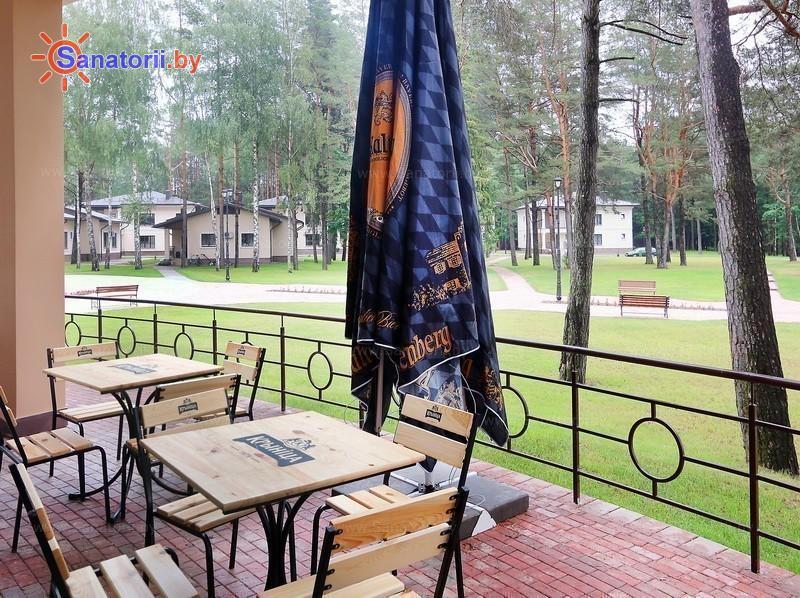 Санатории Белоруссии Беларуси - санаторий Плисса - Летняя терраса