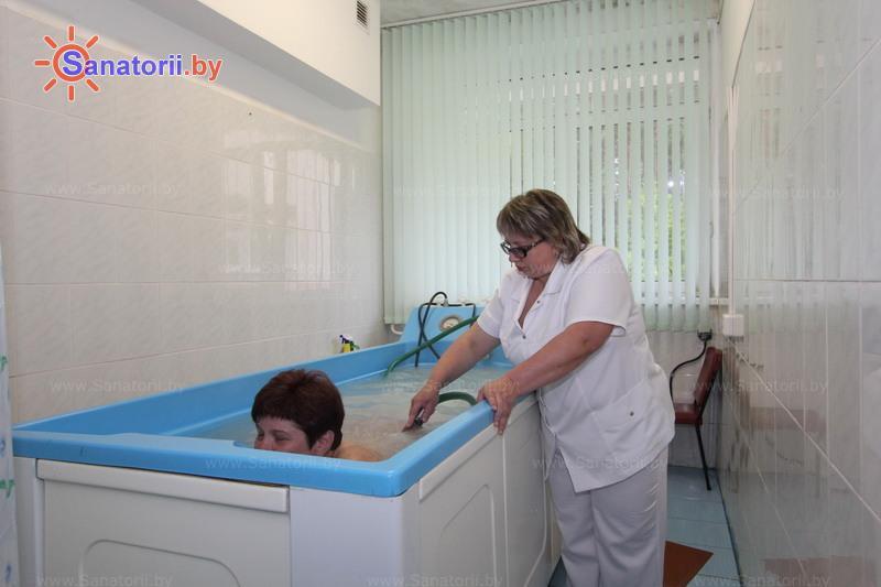 Санатории Белоруссии Беларуси - санаторий Ислочь - Душ-массаж подводный