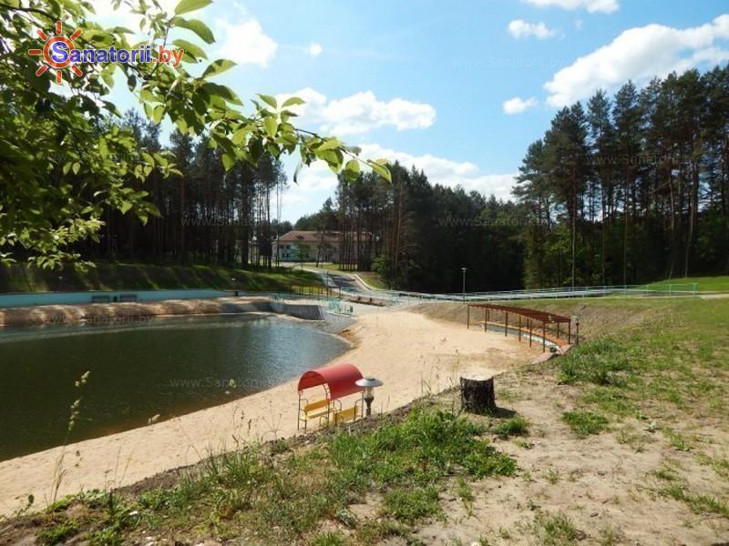 Санатории Белоруссии Беларуси - санаторий Ислочь - Территория и природа