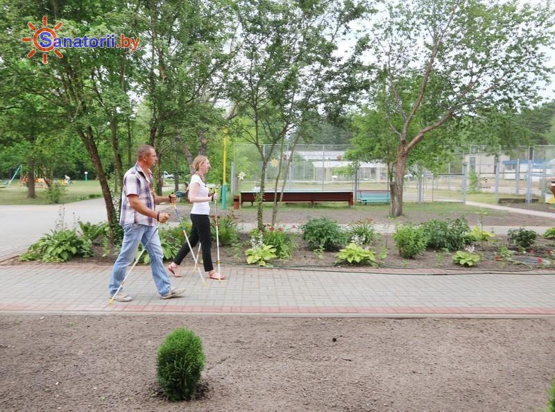 Санатории Белоруссии Беларуси - санаторий Ислочь - Ходьба скандинавская
