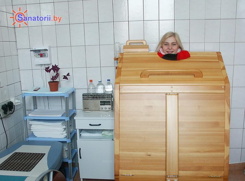 Санатории Белоруссии Беларуси -  Центр медицинской реабилитации и бальнеолечения - Сауна-мини Кедровая бочка