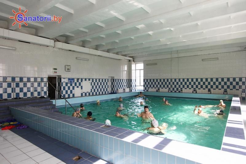 Санатории Белоруссии Беларуси -  Центр медицинской реабилитации и бальнеолечения - Бассейн
