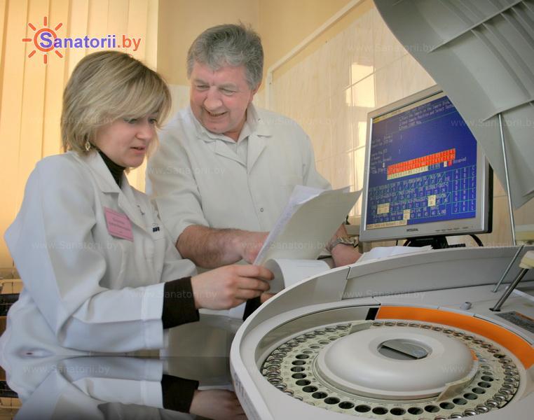 Санатории Белоруссии Беларуси -  Центр медицинской реабилитации и бальнеолечения - Клиническая лаборатория