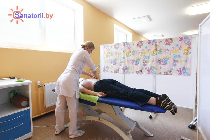 Санатории Белоруссии Беларуси -  Республиканская больница спелеолечения - Массаж ручной