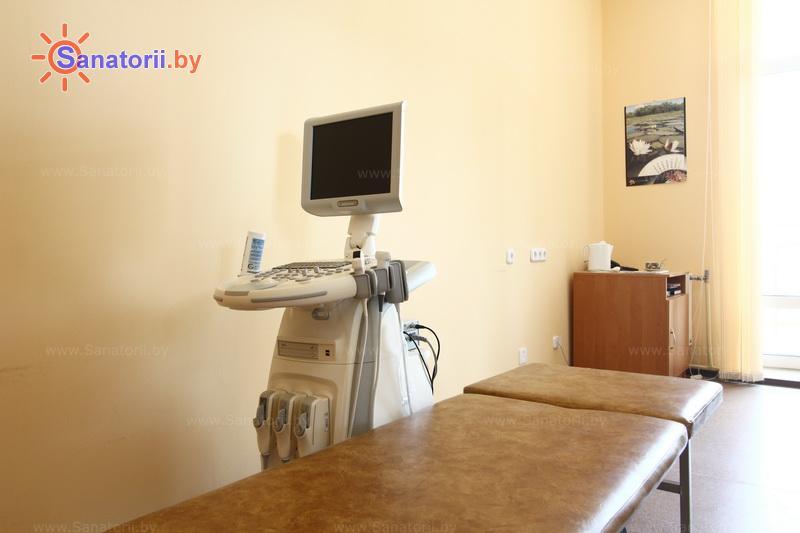 Санатории Белоруссии Беларуси -  Республиканская больница спелеолечения - Ультразвуковая диагностика