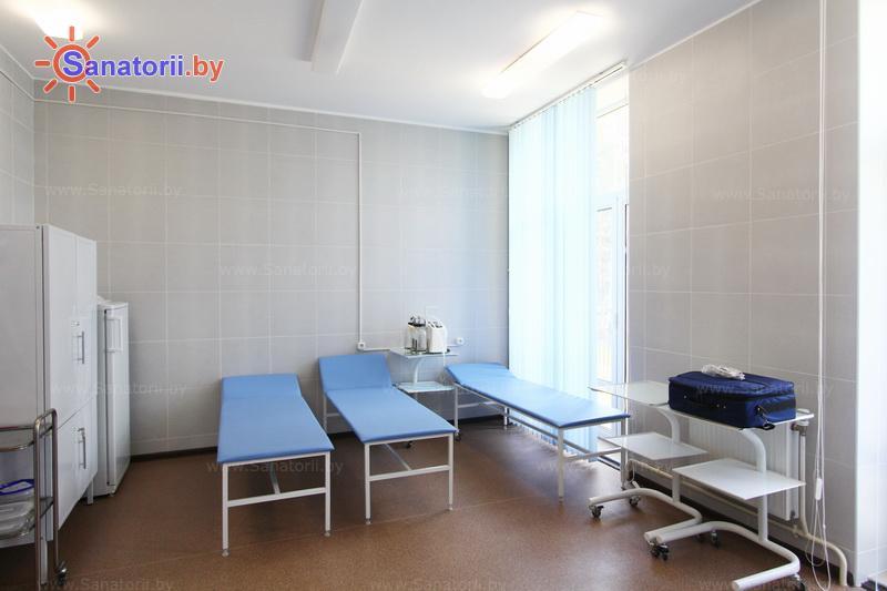 Санатории Белоруссии Беларуси -  Республиканская больница спелеолечения - Процедурный кабинет