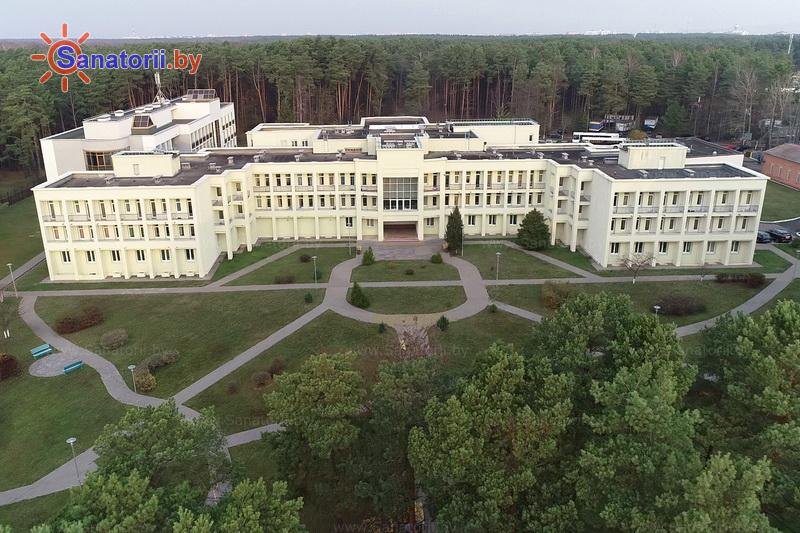 Санатории Белоруссии Беларуси -  Республиканская больница спелеолечения - Территория и природа