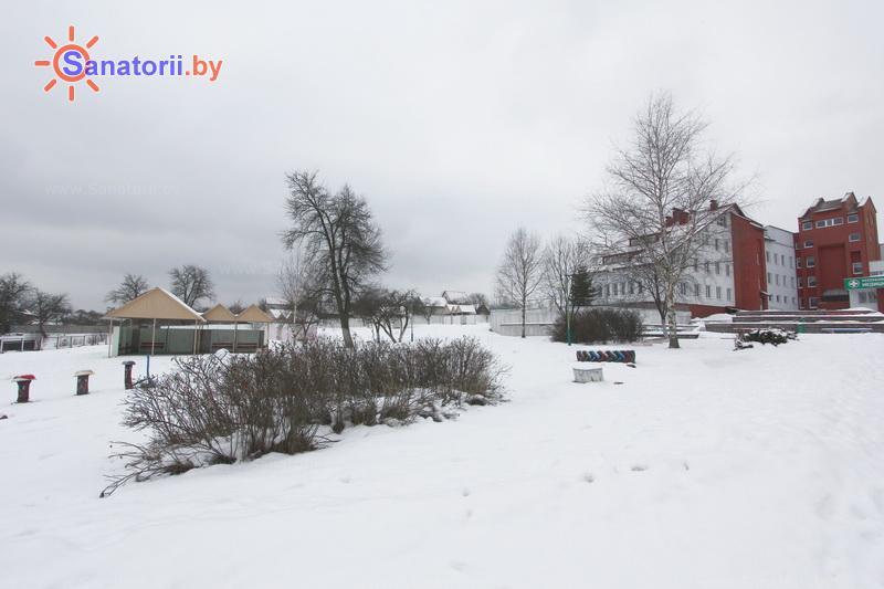 Санатории Белоруссии Беларуси - РДБМР Острошицкий городок - Территория и природа