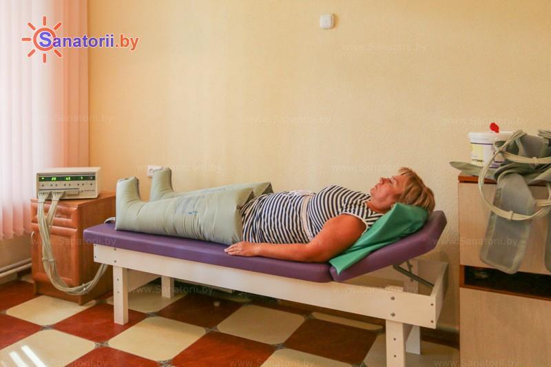 Санатории Белоруссии Беларуси - санаторий Чайка - Компрессионная терапия
