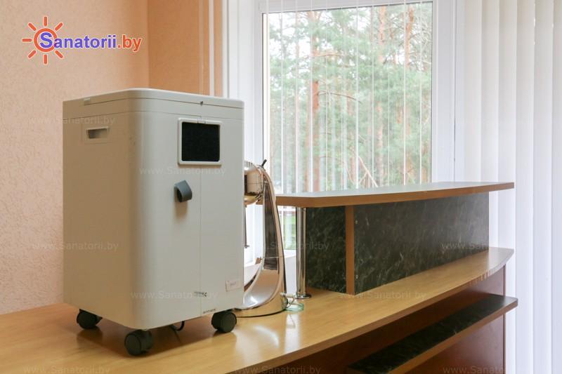 Санатории Белоруссии Беларуси - санаторий Чайка - Оксигенотерапия (кислородотерапия)
