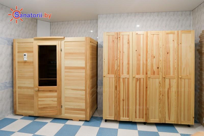 Санатории Белоруссии Беларуси - санаторий Чайка - Сауна инфракрасная