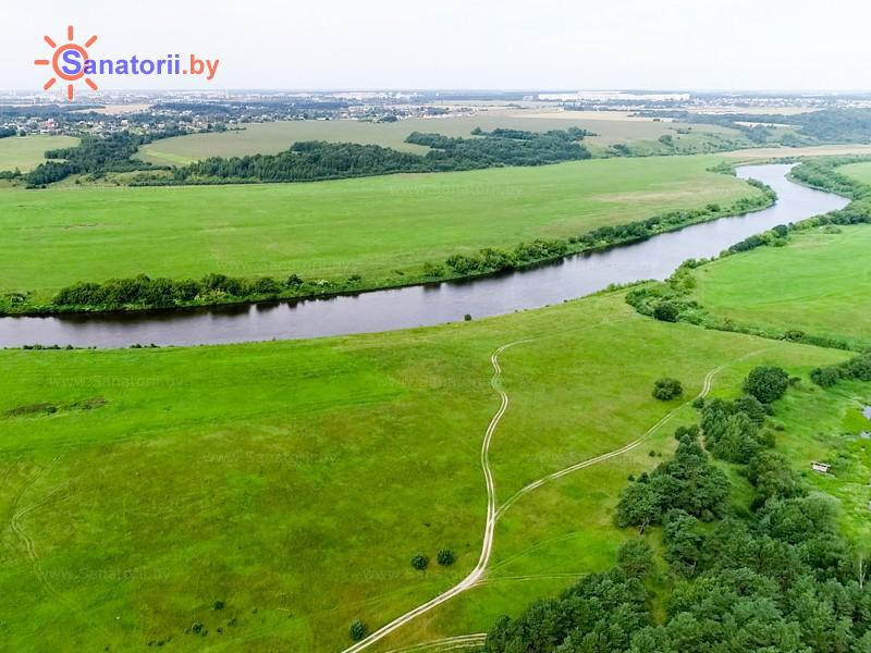 Санатории Белоруссии Беларуси - санаторий Чайка - Водоём