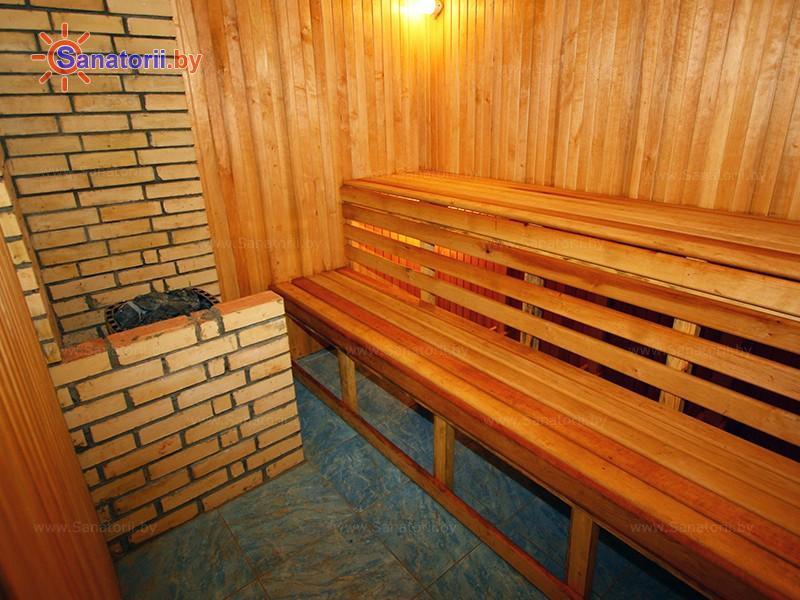 Санатории Белоруссии Беларуси - санаторий Нарочанка - Сауна финская