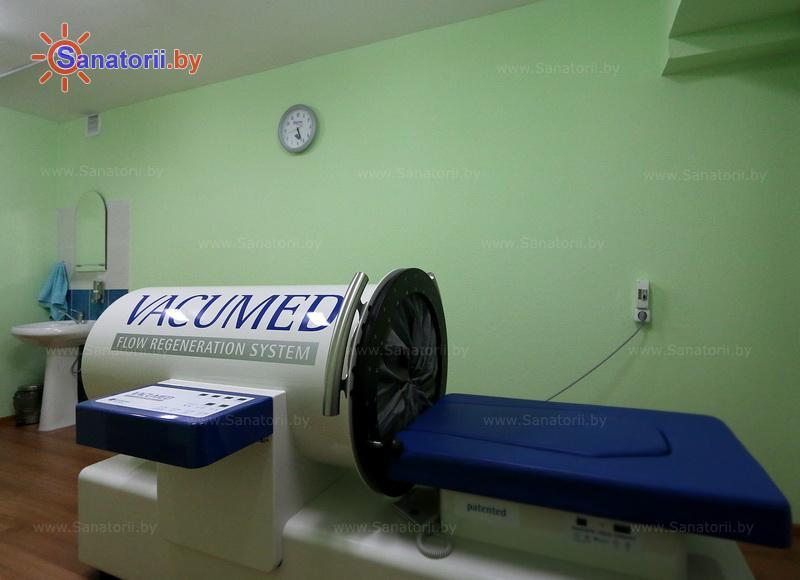 Санатории Белоруссии Беларуси - санаторий Нарочанка - Вакуум-терапия